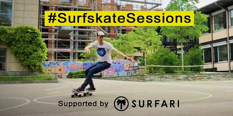 Early Bird Surfskate Sessions: Mehrwochen Programm mit Testing und Videoanalyse