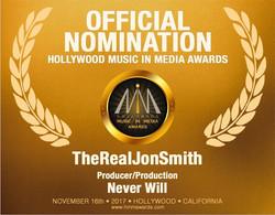 "HMMA Awards ""Never Will"""