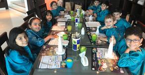Besuch im Cafe Ceramique am 7. April 2019 der Klassen 1 und 2
