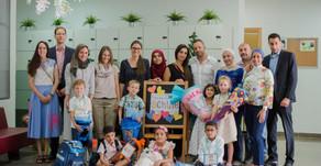 Feierliche Einschulung am 6. September 2018 in die Grundschule der DISR