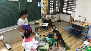 Junglebookreading Klasse 1 und 4