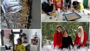 In der Weihnachtsbäckerei…Kekse backen der Sek1 – eine Aktion der SMV