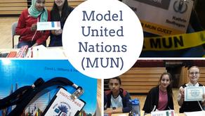 Die DISR auf politischem Parket / The DISR on the world's political stag – Model United Nations (MUN