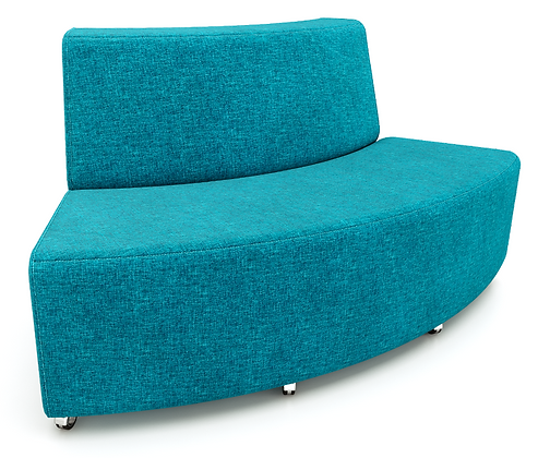 Curved Armless Sofa - Out