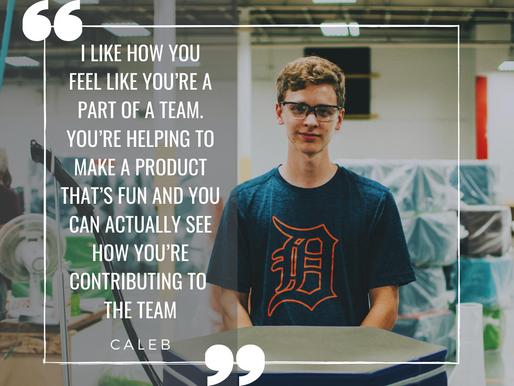 At Our Core: Meet Caleb!