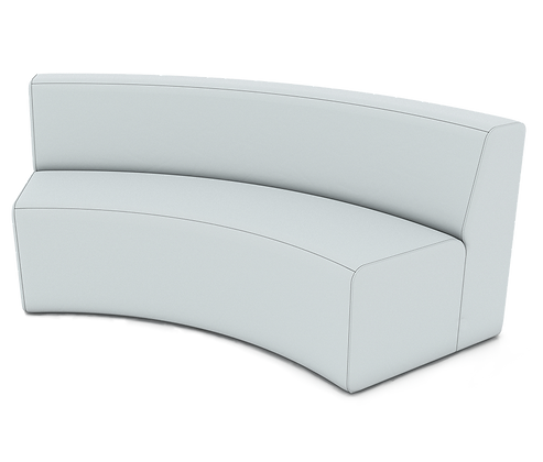 XL Curved Armless Sofa - In