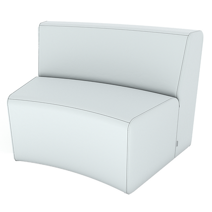 XL Curved Loveseat - In