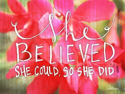 She Believed by Misty Diller