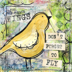 You Have Wings - Art by Misty Diller
