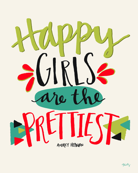 Happy Girls - Art by Misty Diller