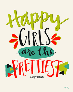 Happy Girls - Art by Misty Diller
