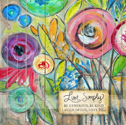 Live Simply by Misty Diller