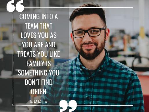 At Our Core: Meet Eddie!