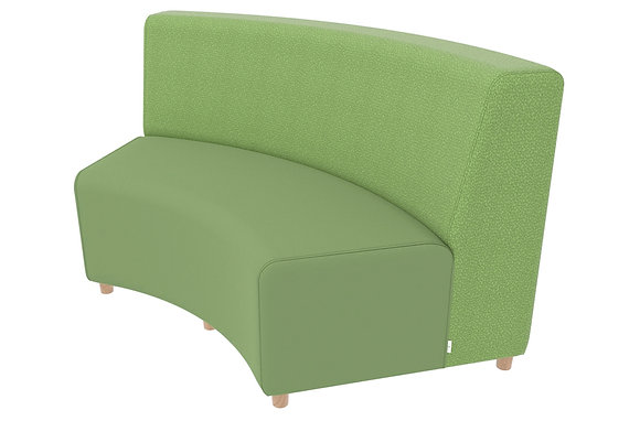 Curved Sofa - In