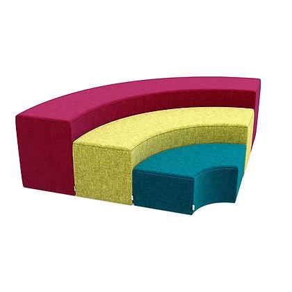 Rainbow Bench Set