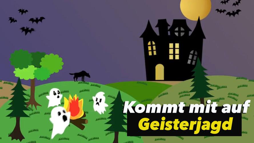 Geisterjagd   Kinderlied   Halloween   zum Singen und Tanzen
