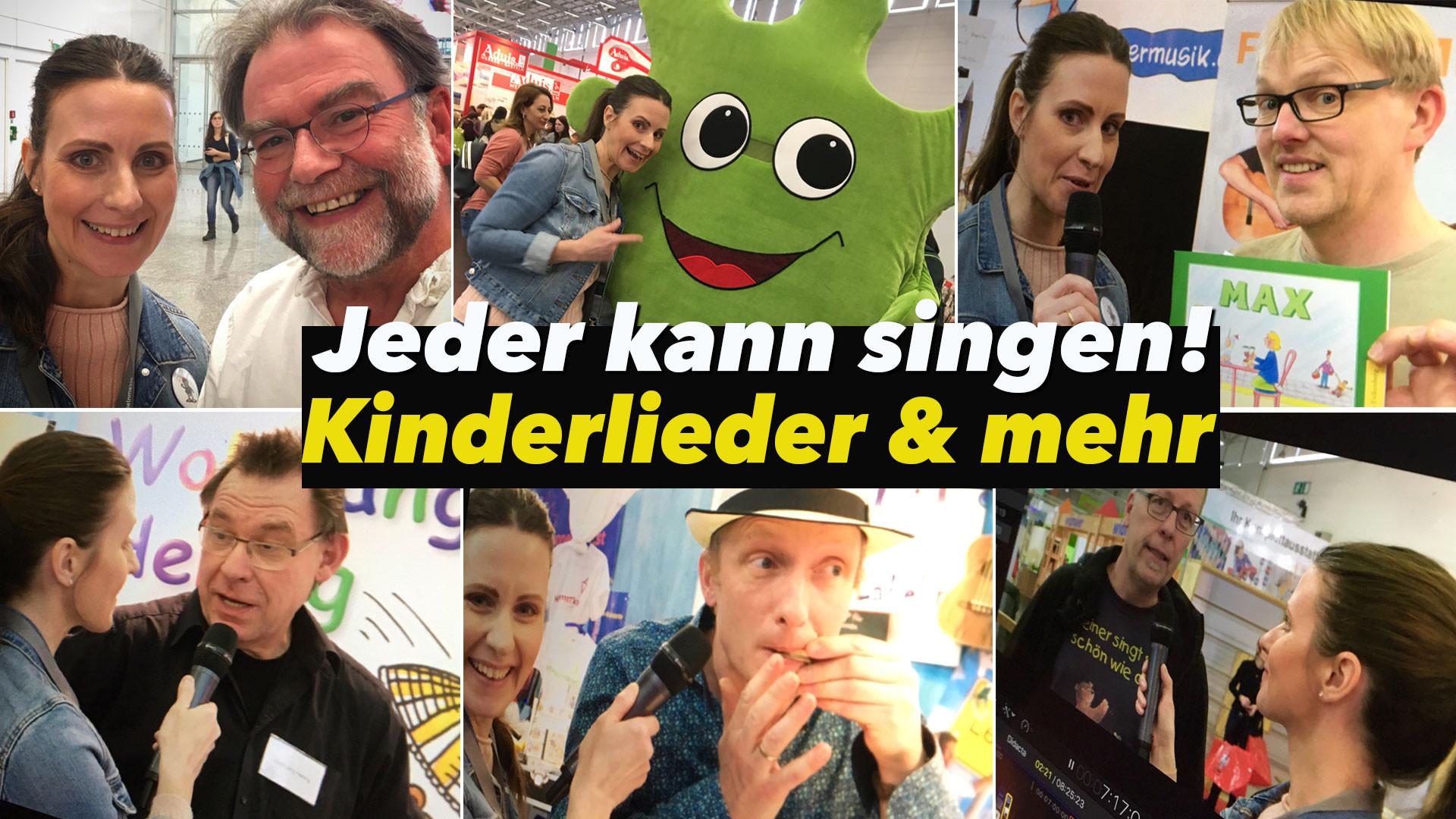 Didacta 2019 - Musik & mehr! Kinderliedermacher im Gespräch & action