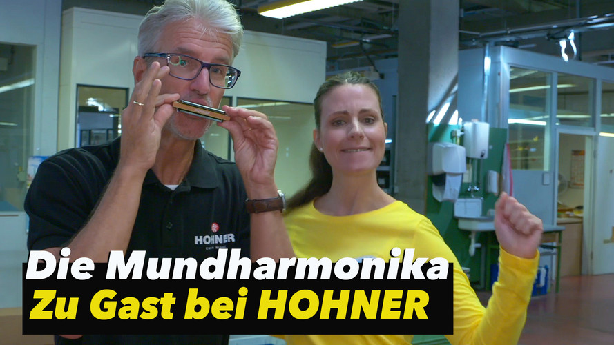 Die MUNDHARMONIKA - Zu Gast bei HOHNER