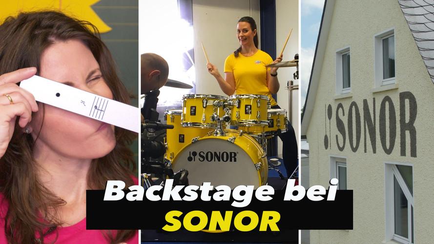 Backstage bei SONOR - Wie wird ein Xylophon hergestellt?