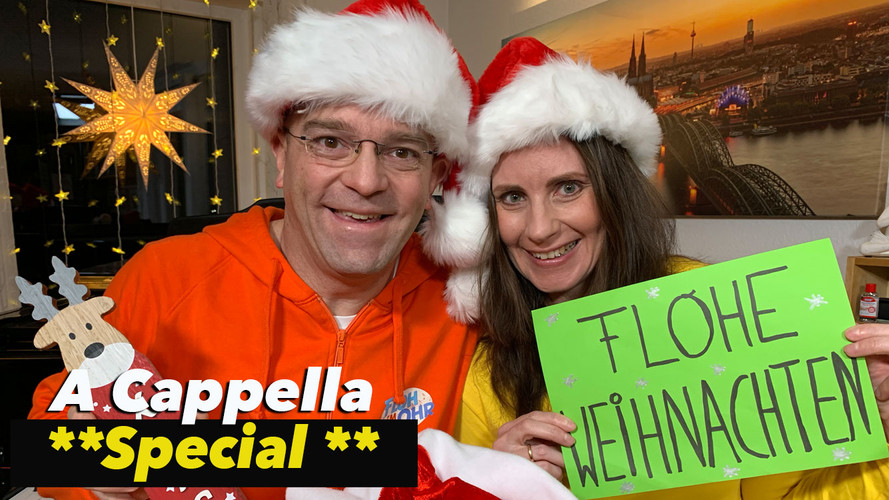 A Cappella - Jingle Bells Frohe Weihnachten bei Floh im Ohr TV