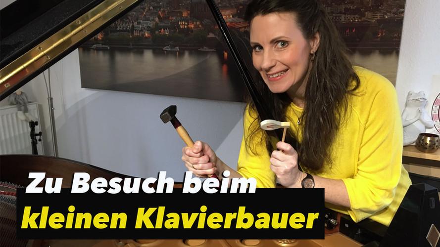 Der kleine Klavierbauer - Kinder Veranstaltung im Pianohaus Hübner - Trier