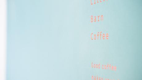 Visual design for Little Barn Coffee
