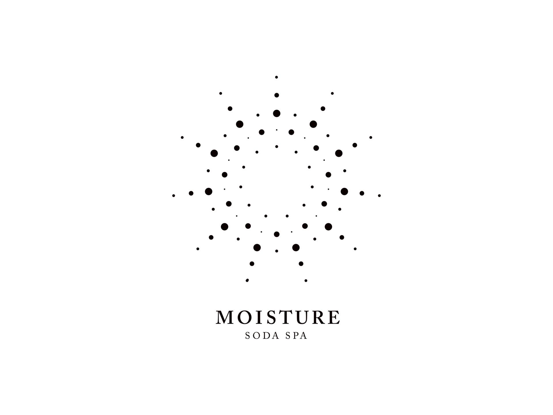 Logo Design for MOISTURE Soda Spa