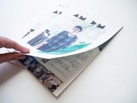 Brochure design for AM/PM