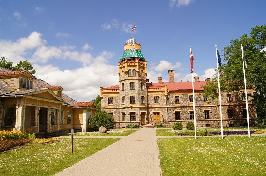 The New Castle of Sigulda