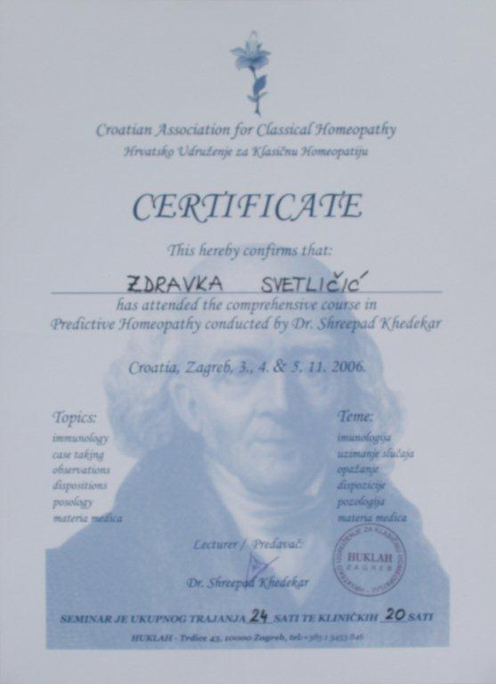 certifikat_homeopatija_zdravka_svetlicic
