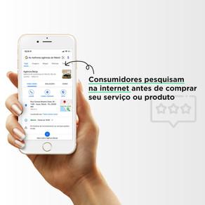 Consumidores pesquisam na internet antes de comprar seu serviço ou produto