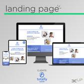Criação de Landing Page - Clínica Totally