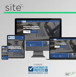 Criação de Site - Cartórios de Protesto RJ