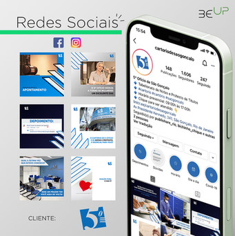 Gestão de Redes Sociais - 5º Ofício de São Gonçalo