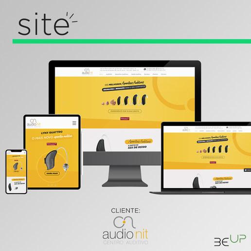 Criação de Site - Audionit Centro Auditivo