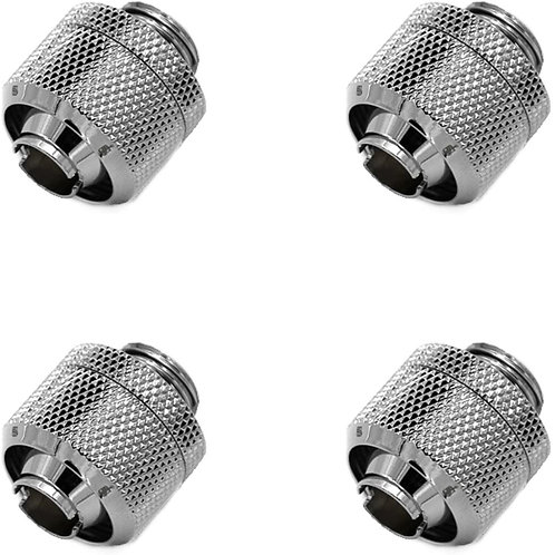 "Barrow G1/4"" to 3/8"" ID, 5/8"" OD Compression Fitting for Soft Tubing, 4-pack"
