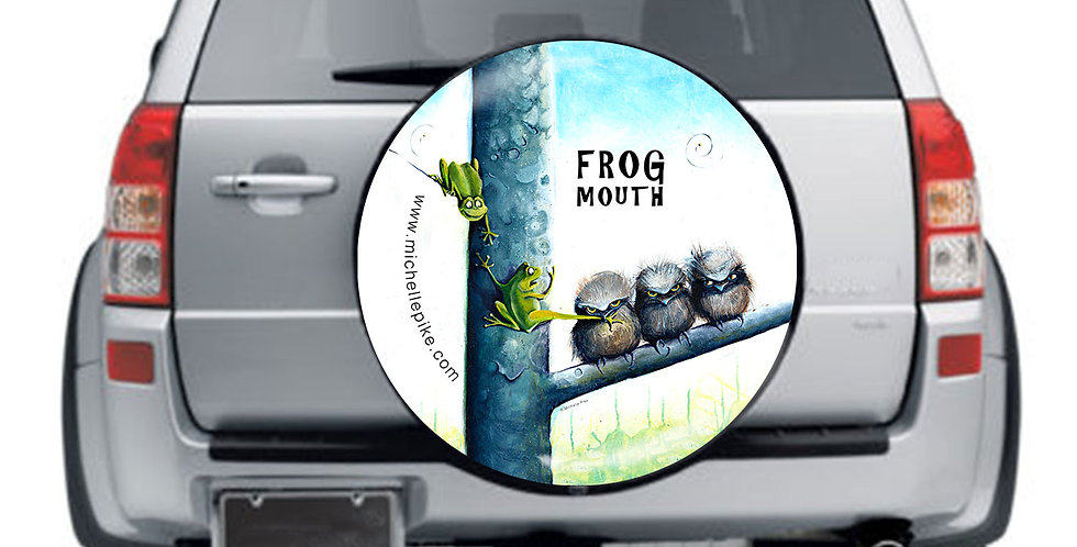 Wheel Cover - Frogmouth