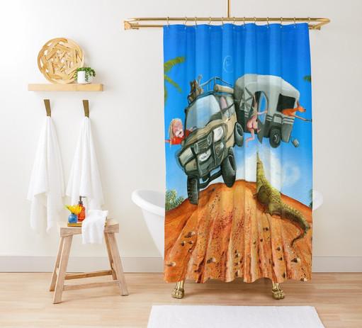 Shower Curtain - Naughty Nomads.jpeg