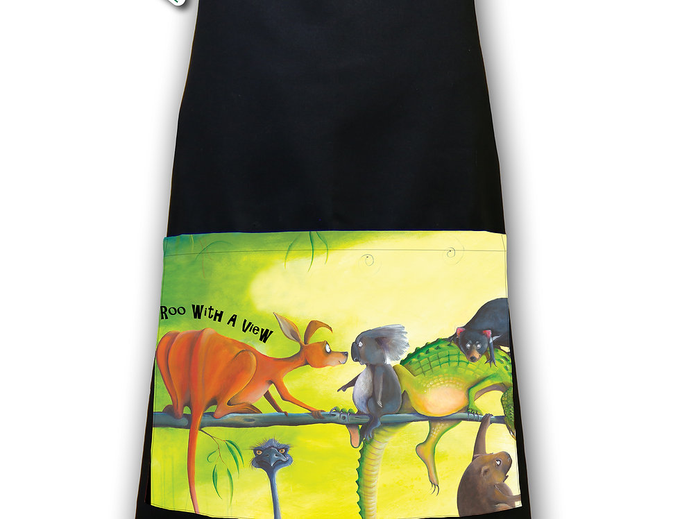 Apron - Roo With A View