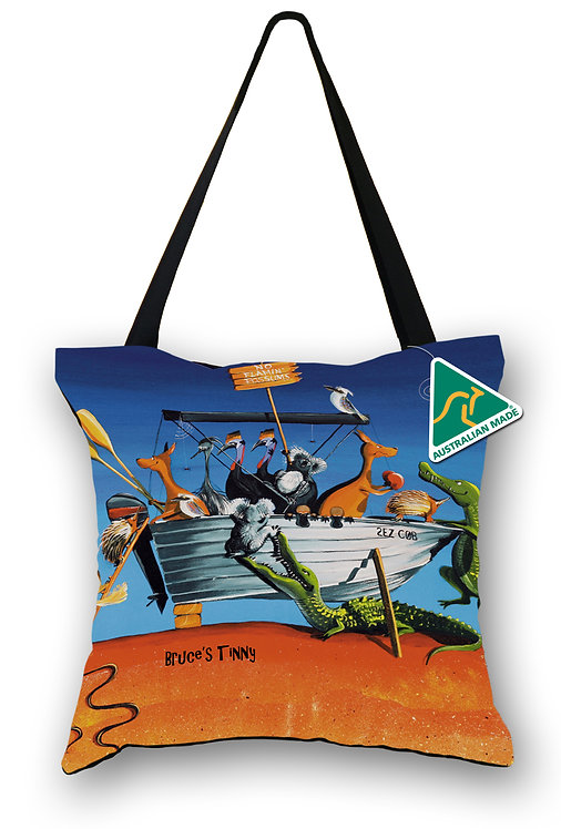 Tote Bag - Bruce's Tinny