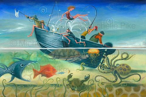 Print - A Fisherman's Tale