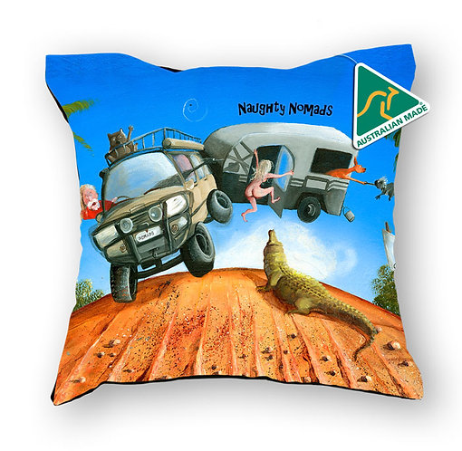 Cushion Cover - Naughty Nomads