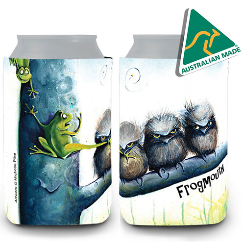 Stubby Cooler - Frogmouth