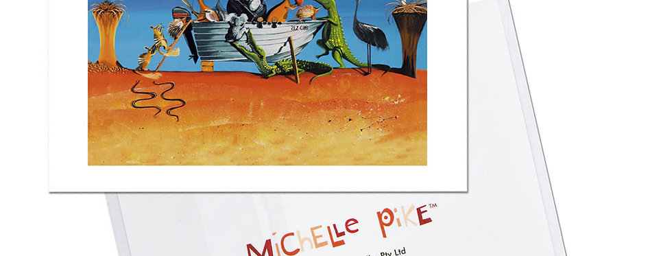 Card - Bruce's Tinny