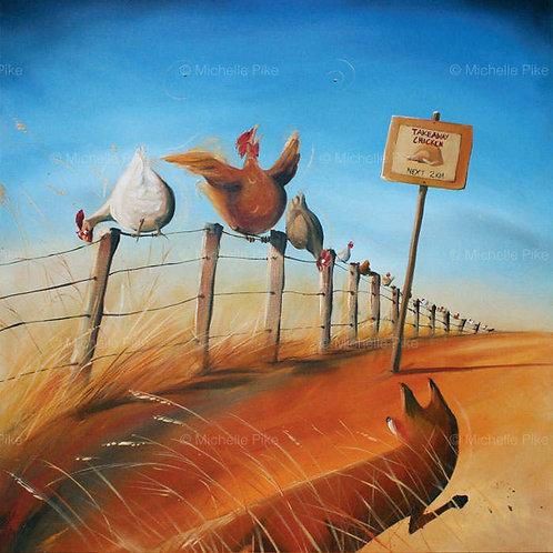 Print - Takeaway Chicken