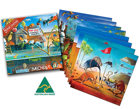 Coasters - Outback Series
