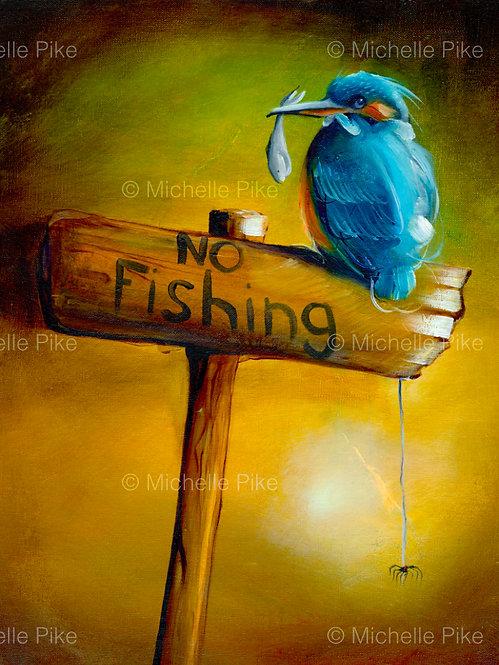 Print - No Fishing