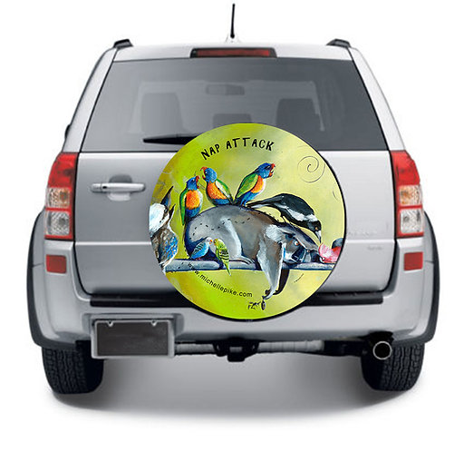 Wheel Cover - Nap Attack