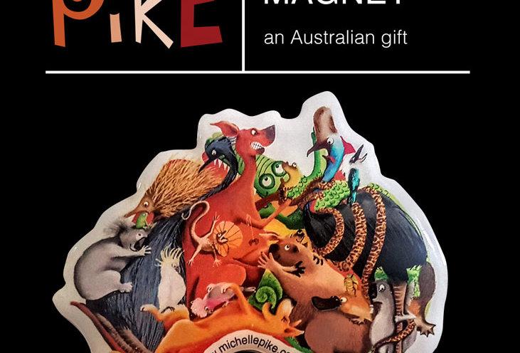 Magnet - Australia Map