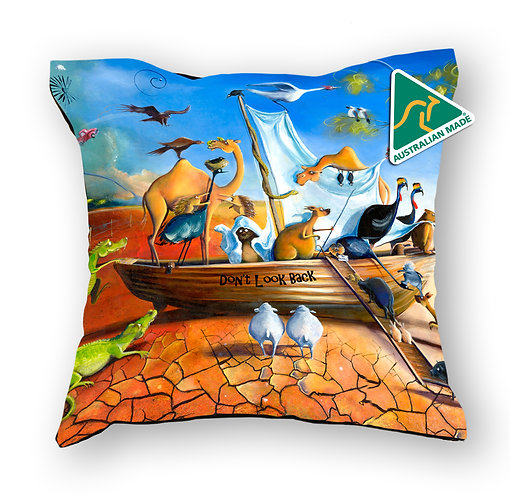Cushion Cover - Don't Look Back